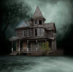 Victorian Old House Stock by *mysticmorning on deviantART