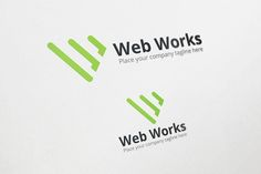 Web Works Logo Template by shahjhan on @creativemarket