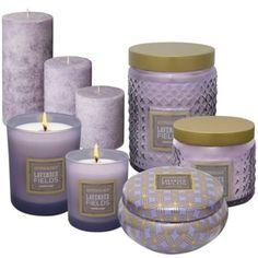 Anthology™ Lavender Fields Candles - BedBathandBeyond.com