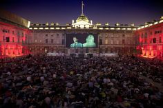 Somerset House, summer film screening