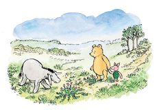 classic pooh hundred acre wood map - Google Search