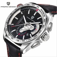 US $69.72 - Top Luxury Brand PAGANI DESIGN Waterproof Quartz Watches Military Watches Sport Leather Mens Watch Relogios Masculino