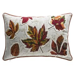 Found it at Wayfair.ca - Fall Leaves Lumbar Pillow