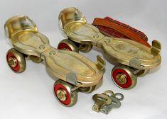https://flic.kr/p/2256Xxs | Vintage Globe No. 42 Outdoor Roller Skates, Manufactured By Globe Skate Corporation, Menomonee Falls, Wisconsin, Circa Late 1960s