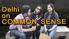 Delhi Girls/boys On Common Sense || Ghanta Hai Public Talk || Trolling |...