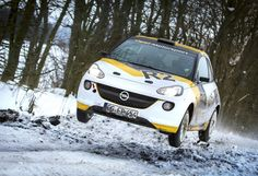 Auf dem Genfer Automobilsalon (- 17.3.2013) zeigt Opel die nach FIA-Rallye-Reglement R2 aufgebaute Studie des Adam. Finale Entwicklung und Homologation sind noch für das Jahr 2013 vorgesehen. Als Antriebsquelle des Adam R2 dient ein 1,6-Liter-Ecotec-Benzinmotor mit variabler Nockenwellenverstellung, der in Wettbewerbskonfiguration eine Leistung von rund 136 kW / 185 PS und ein maximales Drehmoment von zirka 190 Newtonmeter entwickelt.