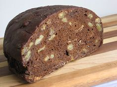 black bread pumpernickel | Eastern European Fruited Black Bread Recipe