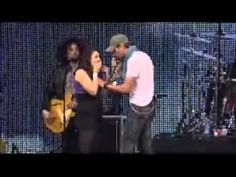Awesome video... Enrique Iglesias singing Hero to a fan.