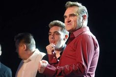 Morrissey and band