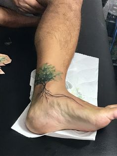 Tree tattoo on ankle and foot - ankle tattoo designs - tree tattoo on ankle . - Tree Tattoo on Ankle and Foot – Ankle Tattoo Designs – Tree Tattoo on Ankle and Foot – - Tattoo Calf, Ankle Foot Tattoo, Ankle Tattoo Designs, Tree Tattoo Designs, Ankle Tattoos, Foot Tattoos, Body Art Tattoos, Sleeve Tattoos, Tattoo On