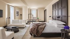 Suite Bedroom #nyedition #editionhotels vossy.com