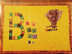 Abécédaire Baboon, Preschool, Africa, World
