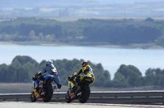 La carrera de Moto2 en el Gran Premio de Aragón en imágenes   Motociclismo.es