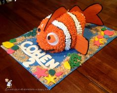 3D Finding Nemo Birthday Cake Makes A Splash... Coolest Birthday Cake Ideas