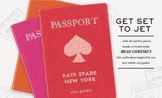 kate spade passports