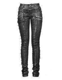 Pantalon goth/rock PUNK RAVE 'bad woman'