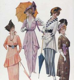 1912-14 gowns