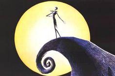 """The Nightmare Before Christmas(1993) -  Henry Selick.     """"La mano de Tim Burton es alargada en esta película que recurre a todos los recursos gráficos del director californiano.Jack Skellington, el Señor de Halloween, decide robar la navidad y convertirla en algo mucho más macabro."""""""
