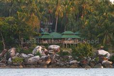 As seen from the water: Horizon Resort Koh Kood, Thailand