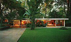 Casa estudio, Calle Josepha Prior 32, Chimalistac, México DF 1952   Arq. Francisco Artigas  Foto. Fernando Luna