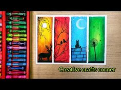 Four seasons scenery drawing with oil pastel for beginners/oil pastel drawing - Trend Topic For You 2020 Oil Pastel Drawings Easy, Oil Pastel Paintings, Oil Pastel Art, Horse Paintings, Oil Pastel Crayons, Crayon Painting, Oil Pastel Colours, Crayon Drawings, Easy Canvas Art