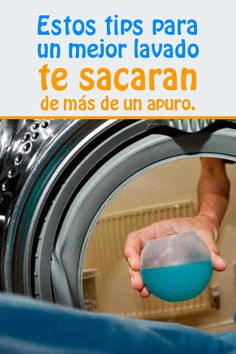 Si añades esto al agua de tu lavadora, ¡las manchas imposibles desaparecerán en un 2×3!!