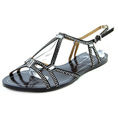 Report Signature Womens Sarasota Dress Sandal Black 85 M US -- Check out the image by visiting the link.