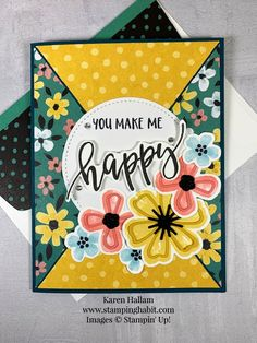 Mary Fish, Stampin Pretty, Wink Of Stella, Stamping Up Cards, Rubber Stamping, Ink Pads, Flower Cards, Greeting Cards Handmade, Making Ideas
