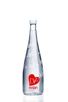 DVF love evian Bottle