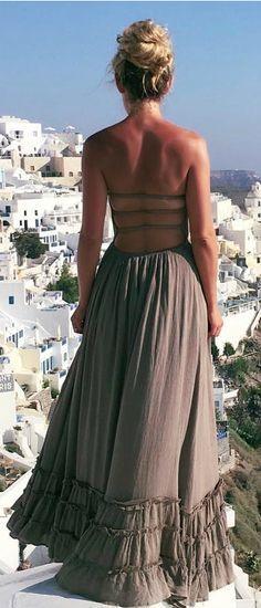583288701d6a Dance Floor Darling Strapless Olive Green Maxi Dress
