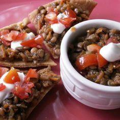 Greek-Seasoned Lentils - Crock-Pot Recipe