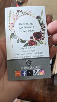 Follow our shop on all social media platforms @printhousedesign1 Platforms, Business Cards, 3d Printing, Social Media, Prints, Shopping, Lipsense Business Cards, Impression 3d, Social Networks