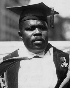Civil rights leader Marcus Garvey, President of the Universal Negro Improvement Association Marcus Garvey, African American Culture, Black History Facts, Harlem Renaissance, African Diaspora, My Black Is Beautiful, African American History, Black Power, My People
