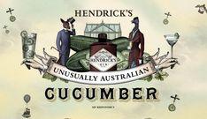 Hendrick's Unusual Australian Cucumber on Behance