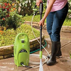 HSN Improvements products help improve your home and garden - from hiding menacing electrical cords, to creating space-saving storage ideas. Best Pressure Washer, Space Saving Storage, Create Space, Cleaning Hacks, Screen Printing, Improve Yourself, Home Appliances, Prints, Gardening