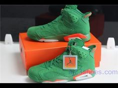 f7e35d29d Updated Jordan 6 Green Gatorade HD Unboxing Review!!