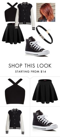 """Untitled #89"" by angiefazaki ❤ liked on Polyvore featuring beauty, BCBGMAXAZRIA, Doublju, Marc Jacobs and Converse"