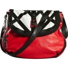 red black lime punk handbag - Google Search