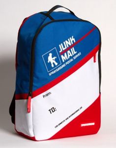Junk Mail Backpack
