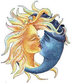 ceramica sole luna stella cuore sorridenti - Cerca con Google