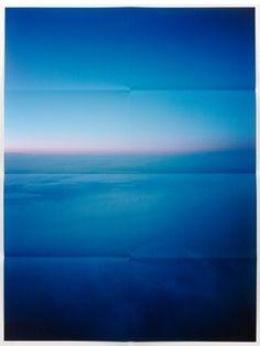 Jack Pierson  Beyond the pale, 2010  folded pigment print  (ed. of 3 + 1 AP)  210.8 x 157.5 cm