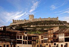 Castillos de España:  PEÑAFIEL (VALLADOLID) SPAIN