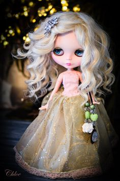 OOAK Blythe Doll Chloe By Blythe Blossom. by BlytheBlossom