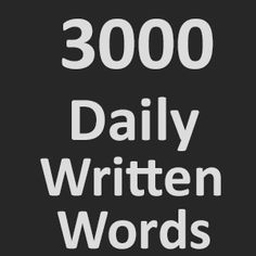 3000 Daily Written words Freelance Marketplace, Calm, Words, Horse