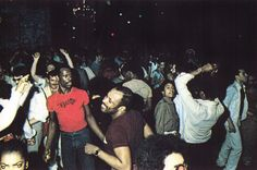 Paradise Garage: No idea where this is/was, but I would have loved to be here me thinks!!!