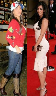 Kim Kardashian butt before and after.  Compiling argument. Hmmmmm not that I care but this is interesting!