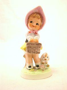 Vintage Figurine Shabby chic nursery Decor Retro by DDbuttons, $6.00