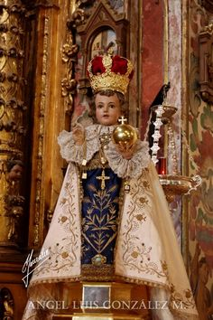 EL NIÑO JESÚS DE PRAGA: UNA SEÑAL DE ESPERANZA  En la Sacristía Fotos de Angel Luis González Martínez ( http://plegariadecordo...