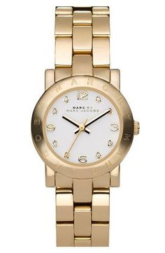 MARC BY MARC JACOBS Small Amy Crystal Bracelet Watch available at Nordstrom