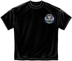 True Heroes Air Borne BLACK T-Shirt